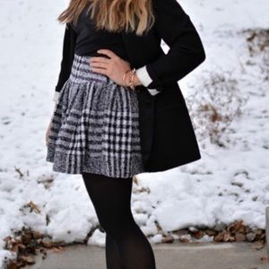 NWT JOA houndstooth skirt heavy